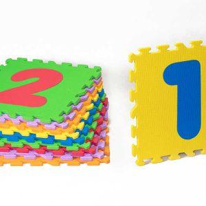 کفپوش مهد کودک اعداد لاتین